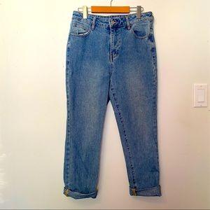 PACSUN Hugh Rise Mom Jeans